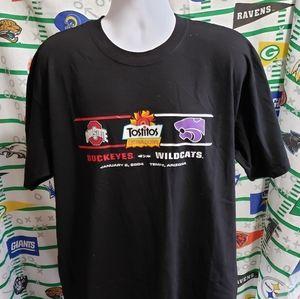 Tostitos Fiesta Bowl Tee Ohio St Kansas St XL NWT
